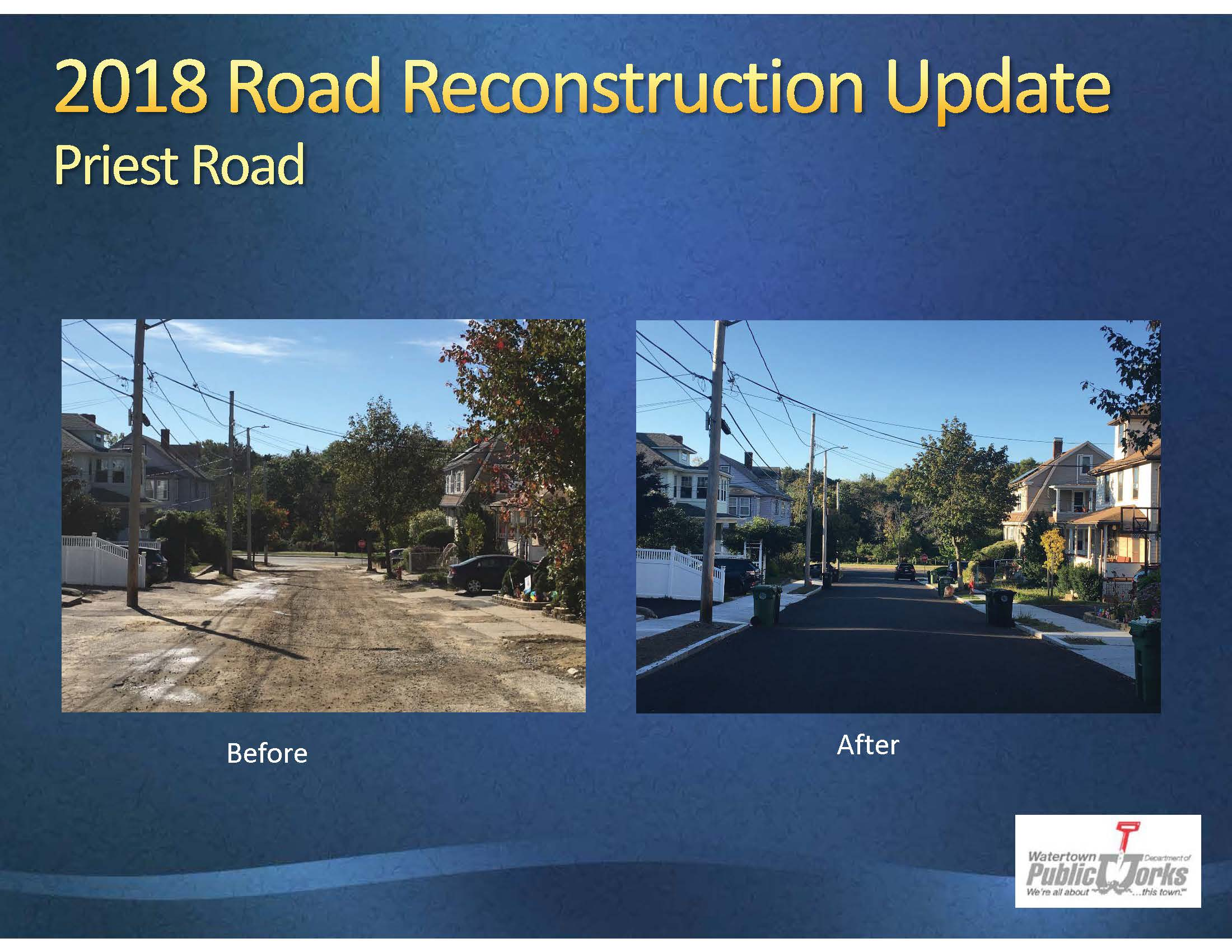 2019 Road Presentation Priest Road